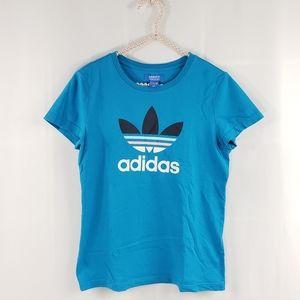 Adidas Crew Neck Trefoil Tee